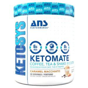 ANS - Ketosys Ketomate - Caramel Macchiato
