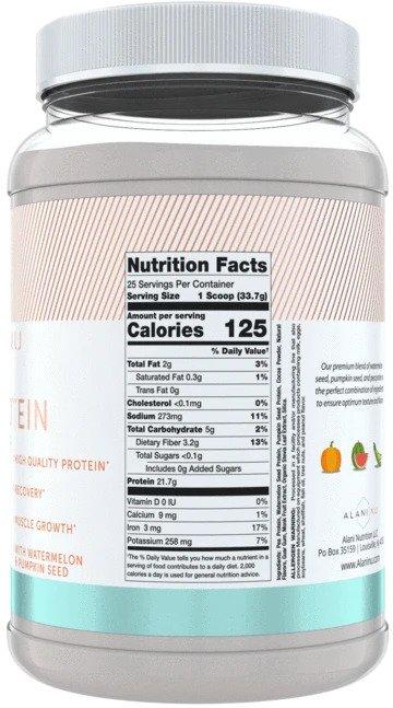 Alani Nu - Plant Protein Powder - Facts