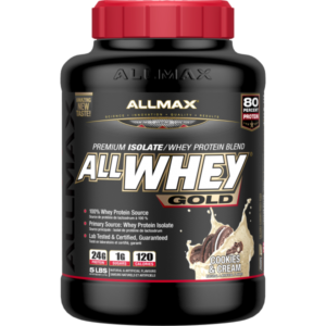 Allmax - All Whey Gold - Cookie & Cream 5lbs