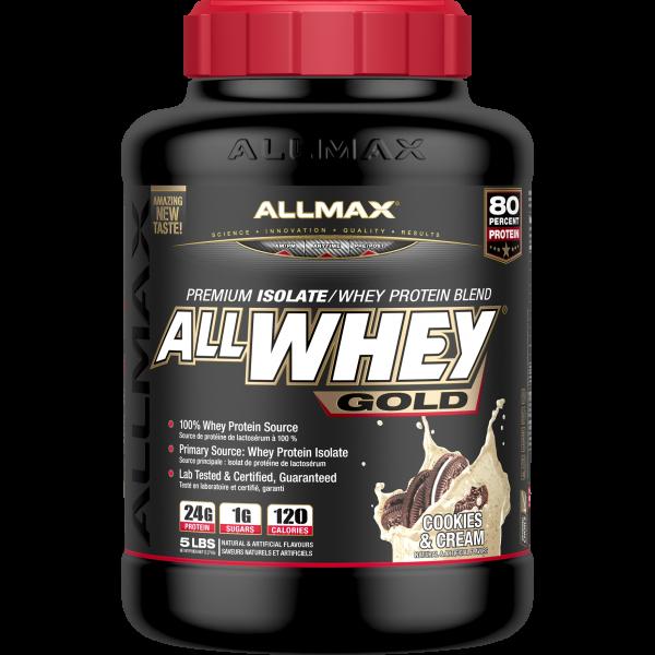 Allmax - All Whey Gold - Cookie & Cream 5lbs