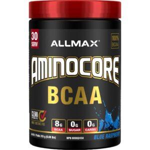 Allmax - Aminocore - Blue Raspberry 315g - www.flexfuelsupplements.ca