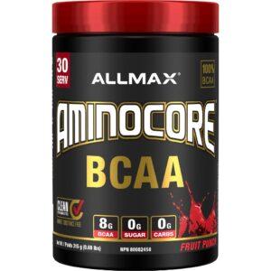 Allmax - Aminocore - Fruit Punch 315g - www.flexfuelsupplements.ca