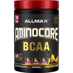 Allmax - Aminocore - Pineapple Mango 315g - www.flexfuelsupplements.ca