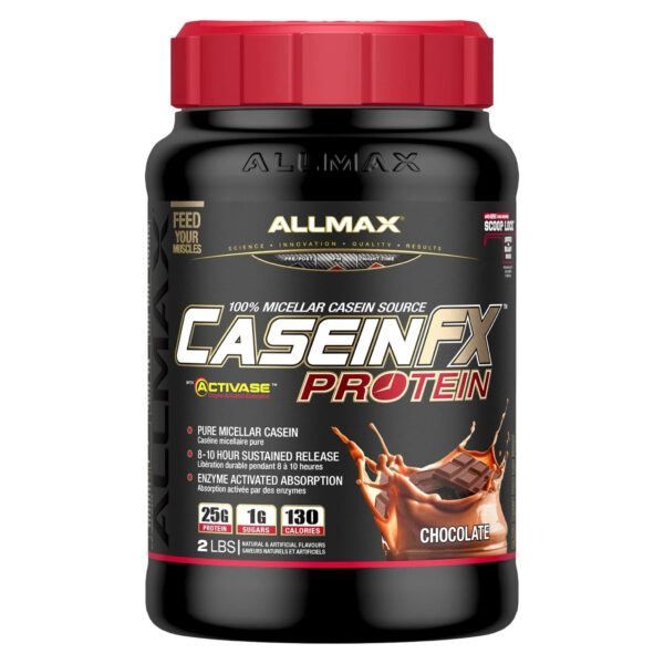 Allmax - Casein FX - Chocolate 2lbs