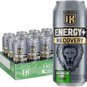 Iron Kingdom - Energy + Recovery - Watermelon Lime 473mL