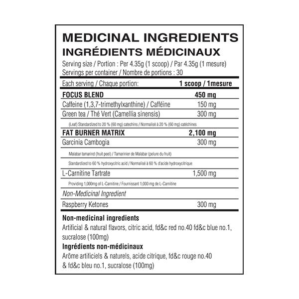 Believe - ENERGY BURNER - Strawberry Daiquiri - Nutrition - http://www.flexfuelsupplements.ca/