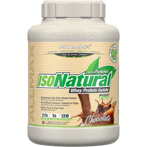 Allmax ISO Natural - Chocolate 5lbs