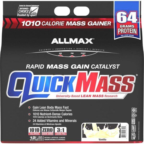 Allmax - Quickmass - 12lbs - Vanilla