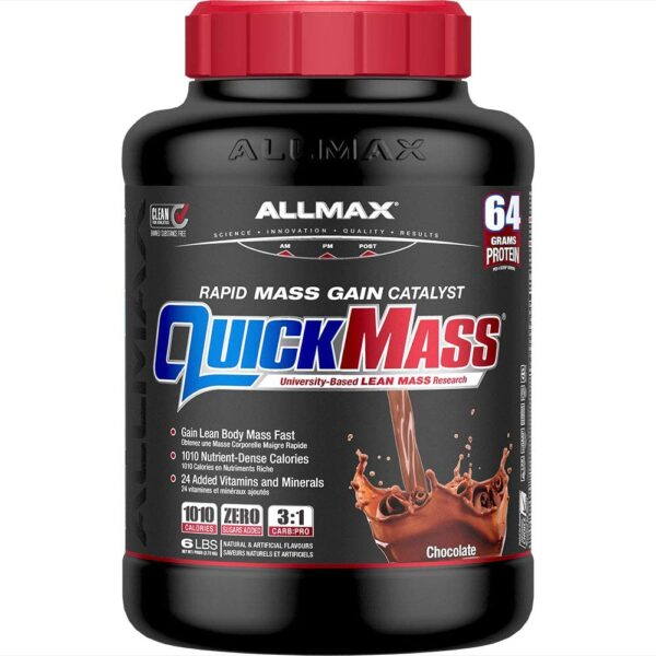 Allmax - Quickmass - 6lbs - Chocolate