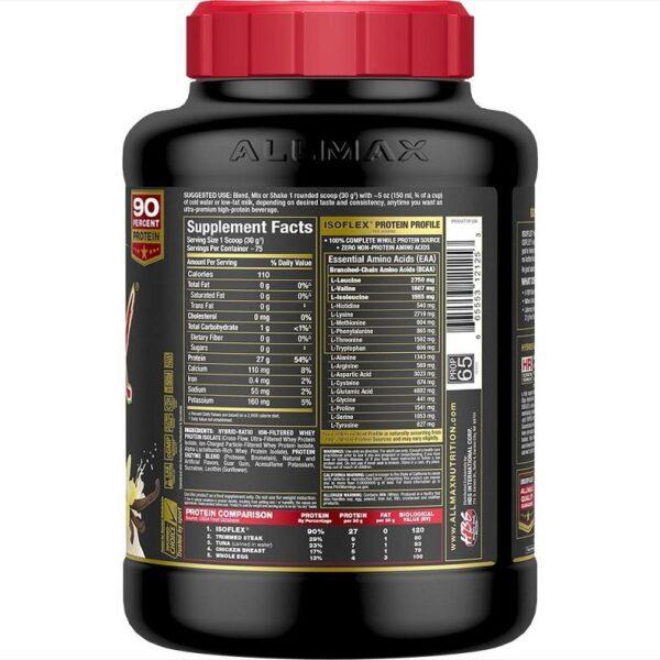 Allmax - Isoflex - 5lbs - Nutritionals - www.flexfuelsupplements.ca