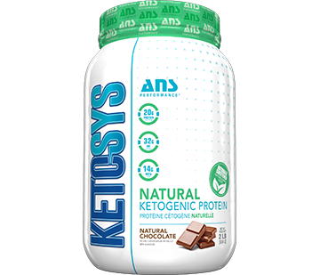 ANS - Ketosys Natural Protein - Chocolate 2lbs